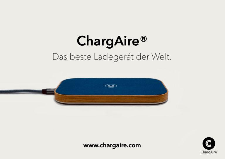 Chargaire – lade Kabellos, Individuell und Nachhaltig