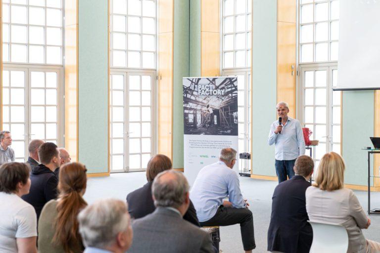 Die ersten Start-ups der Impact Factory stellen sich auf dem Haniel-Campus vor