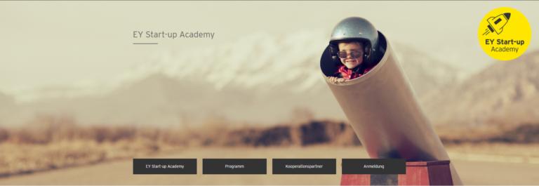 EY Startup Academy – Bewerbungsfrist bis 30. August 2020