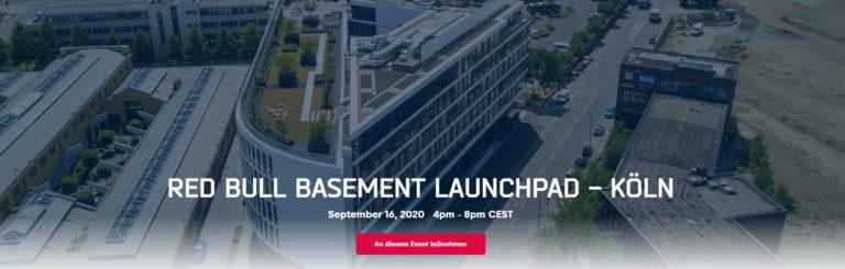 RED BULL BASEMENT LAUNCHPAD – KÖLN am 16.09.2020