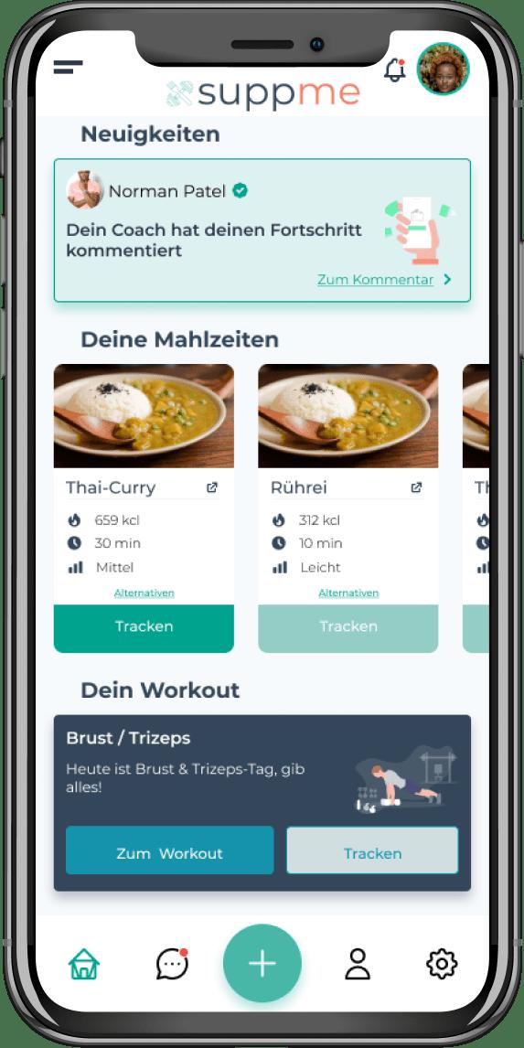suppme – die Plattform für Personaltraining & Ernährungsberatung