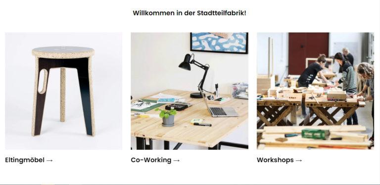 Stadtteilfabrik – die nachhaltige Designermöbel aus dem Ruhrgebiet