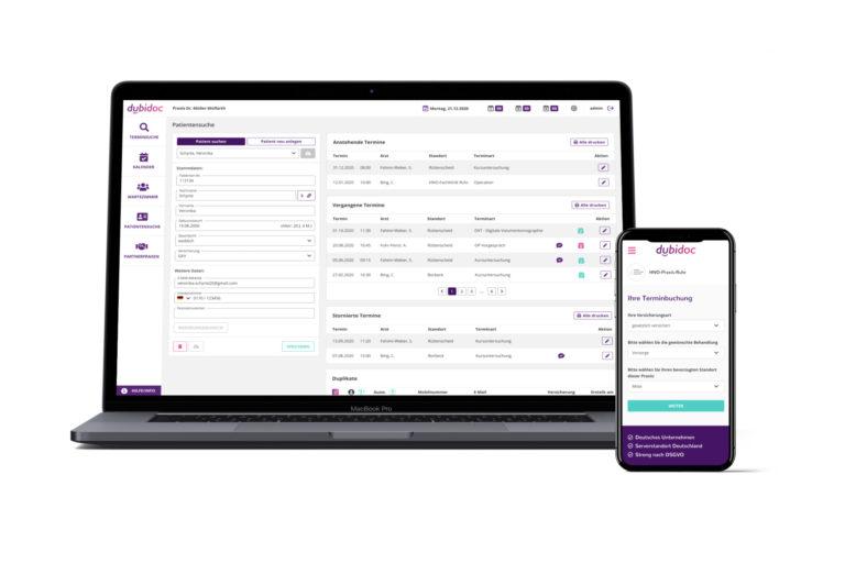dubidoc – die Online-Terminvergabe für Ärzte