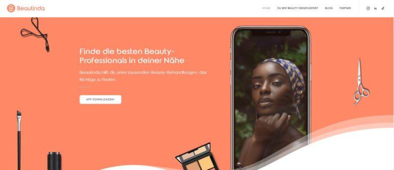 Beauty per App: Beautinda startet erste KI-basierte Vermittlungsplattform für Beauty Dienstleister in Essen